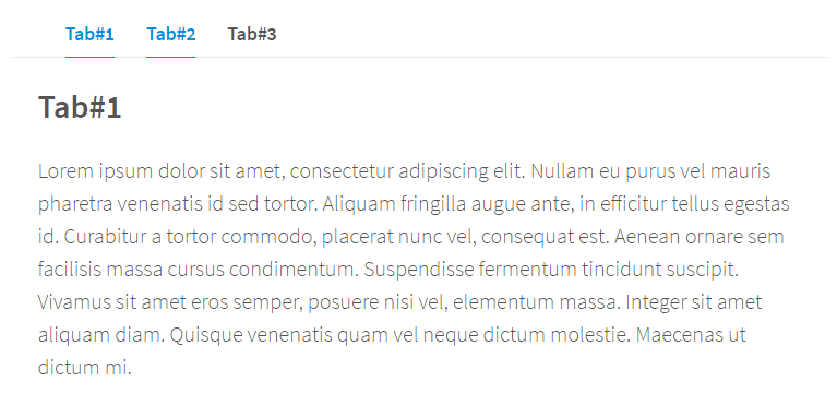 Simple Clean AngularJS Tabs Directive | Angular Script