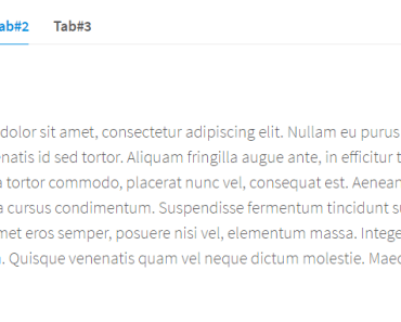 Simple Clean AngularJS Tabs Directive