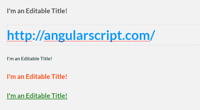 Simple Editable Text Field For Content Management