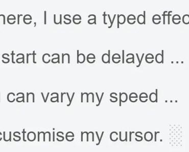 AngularJS Typed Effect Directive