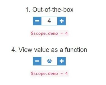 Angular Step Input Directive