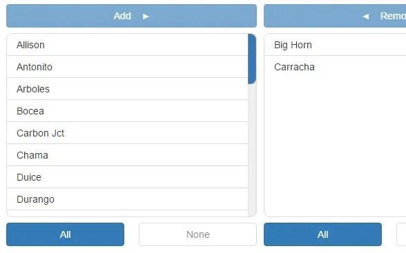 Drag'n'drop Dual Listbox Control For Angular 2 | Angular Script