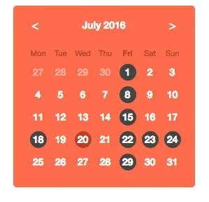 Angular Multi-Date Select Directive