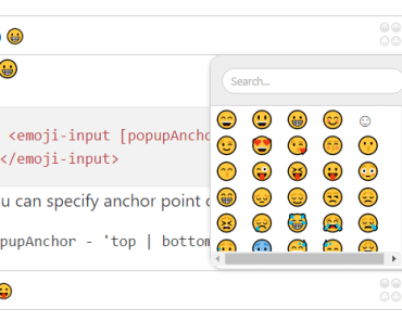 Angular2 Emoji Components