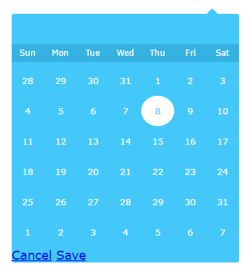 Datepicker for AngularJs 2 | Angular Script
