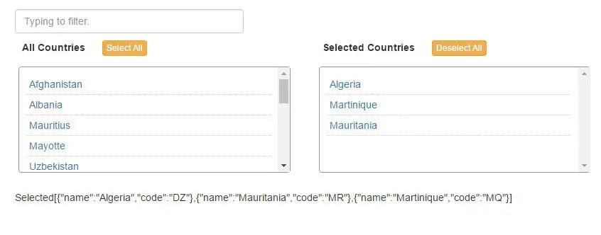 10 Best Multiple Select Modules For Angular - Angular Script