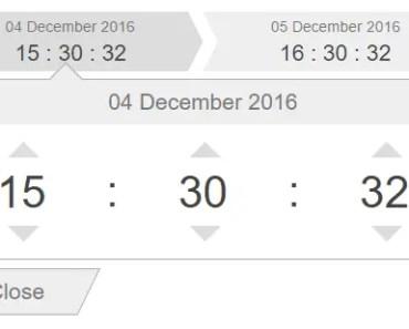 Angular Directive For Datetime Range Input