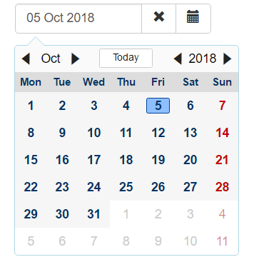 Angular Date Picker - ngx-mydatepicker | Angular Script