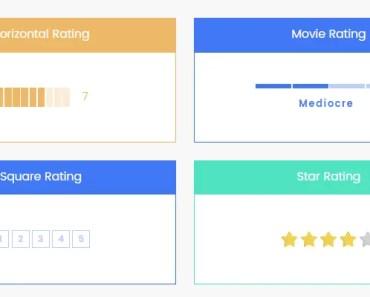 Minimal Bar Rating Component For Angular 2+