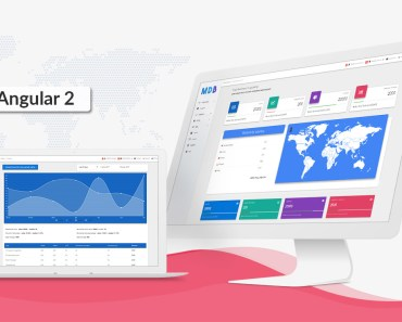 Angular Bootstrap with Material Design