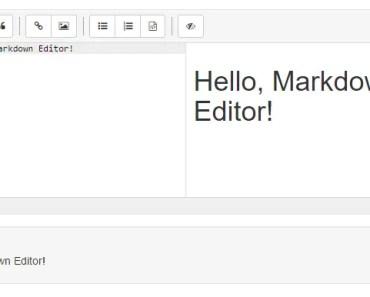 Angular 4+ Markdown Editor