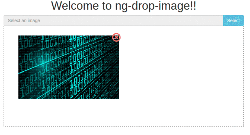 Angular Component To Handle Image Drop