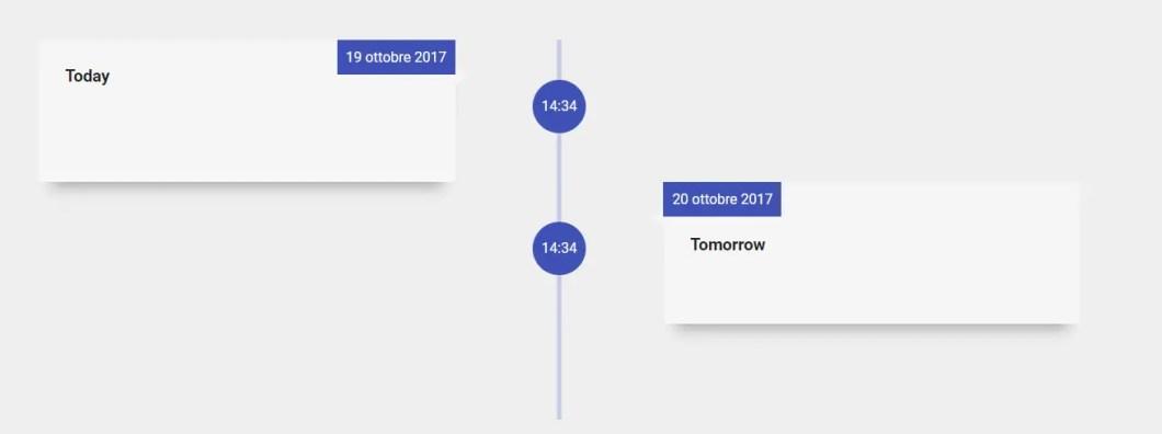 Vertical Timeline Component For Angular 4+