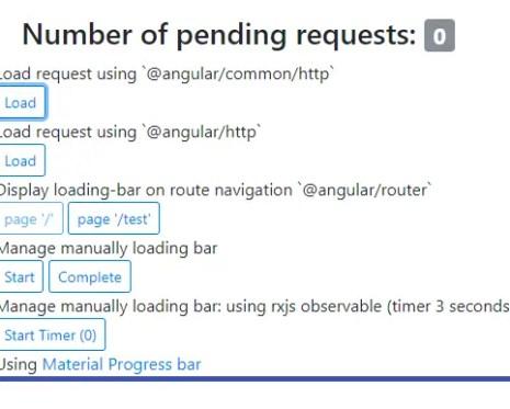 Progress Bar Component For Angular And Ionic | Angular Script