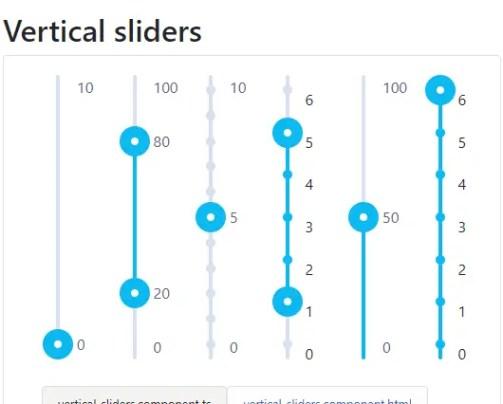 Multi Range Slider Component For Angular 6+ - NpnSlider