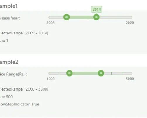 Simple Multi-Range Slider with AngularJS | Angular Script