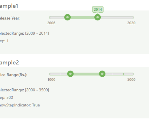 AngularJS Range Slider Components And Modules - Angular Script