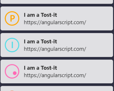 Unobtrusive Toast Module For Angular - toastit