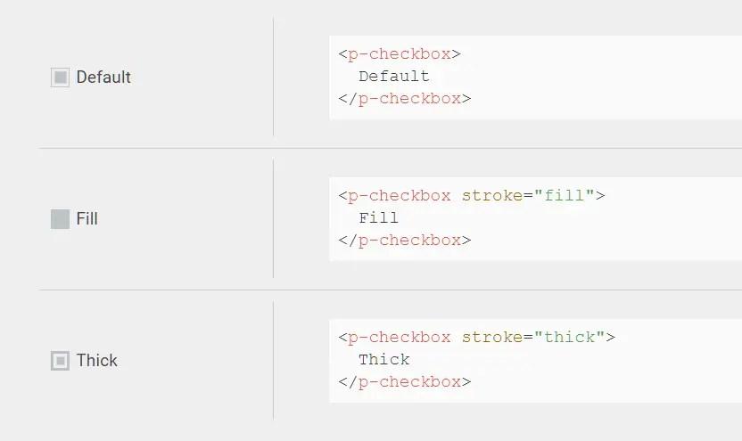 Pretty Checkbox Components