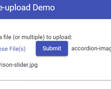 Minimal File Select & Upload Component For Angular Material - mat-file-upload