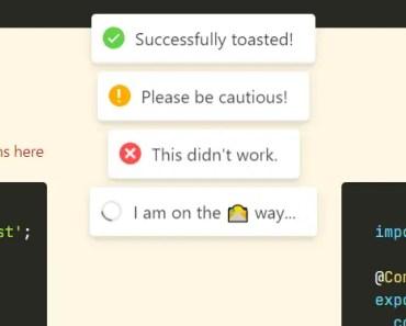 Smoking Hot Angular Notifications - hot-toast