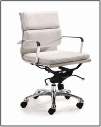 White Leather Ikea Office Chair - Chairs : Home Design ...