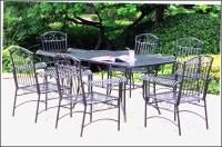 Black Wrought Iron Patio Furniture - Patios : Home Design ...