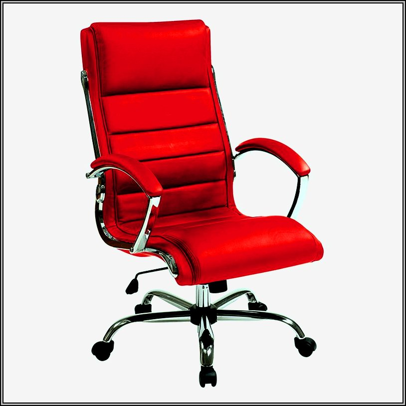 Red Leather Office Chair Executive  Chairs  Home Design