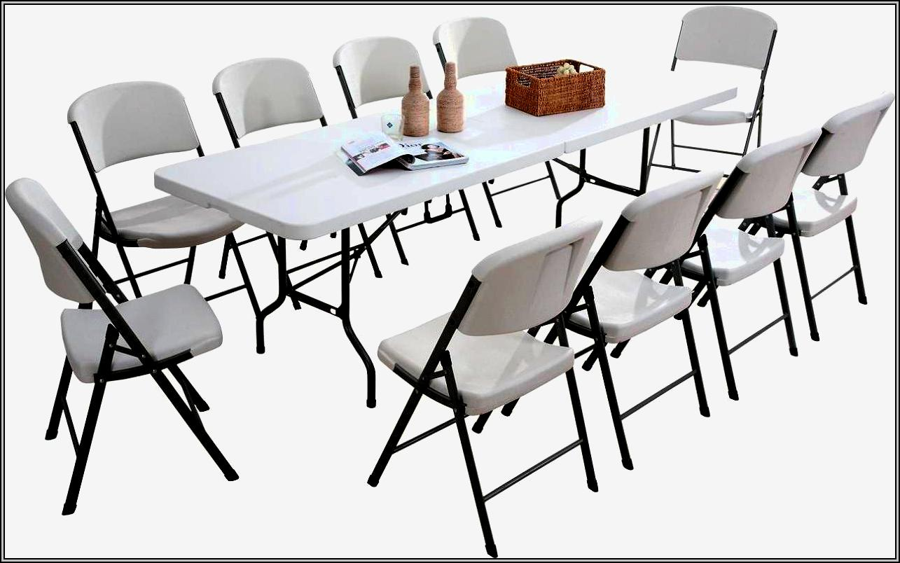 folding table and chairs white ready room chair home design