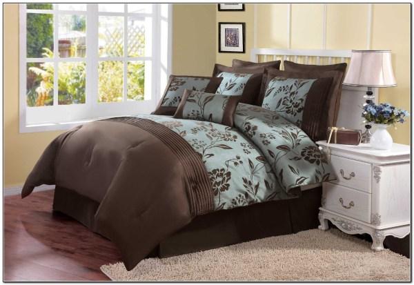 Aqua Blue And Brown Bedding Sets - Beds Home Design