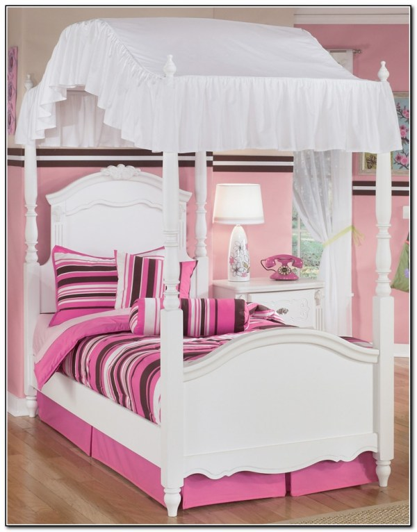Girls Twin Canopy Bed - Beds Home Design Ideas #8angbgrpgr8440