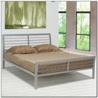 Silver Metal Platform Bed - Beds : Home Design Ideas # ...