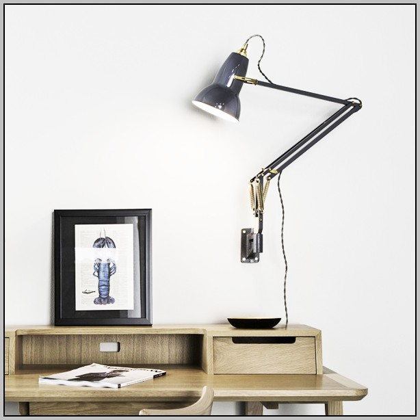 Wall Mountable Desk Lamp Angled Wall Mount Curtain Rod - Curtains : Home Design