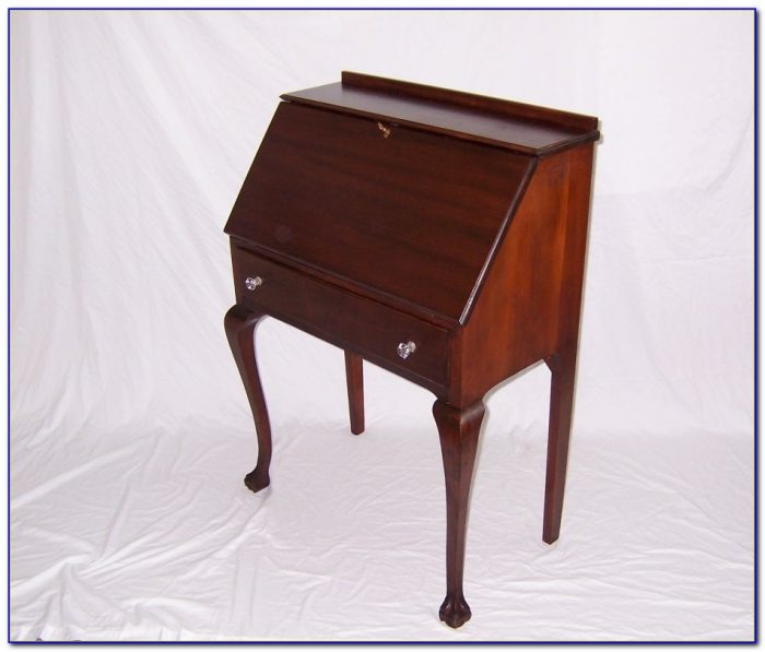 Antique Drop Down Writing Desk  Desk  Home Design Ideas
