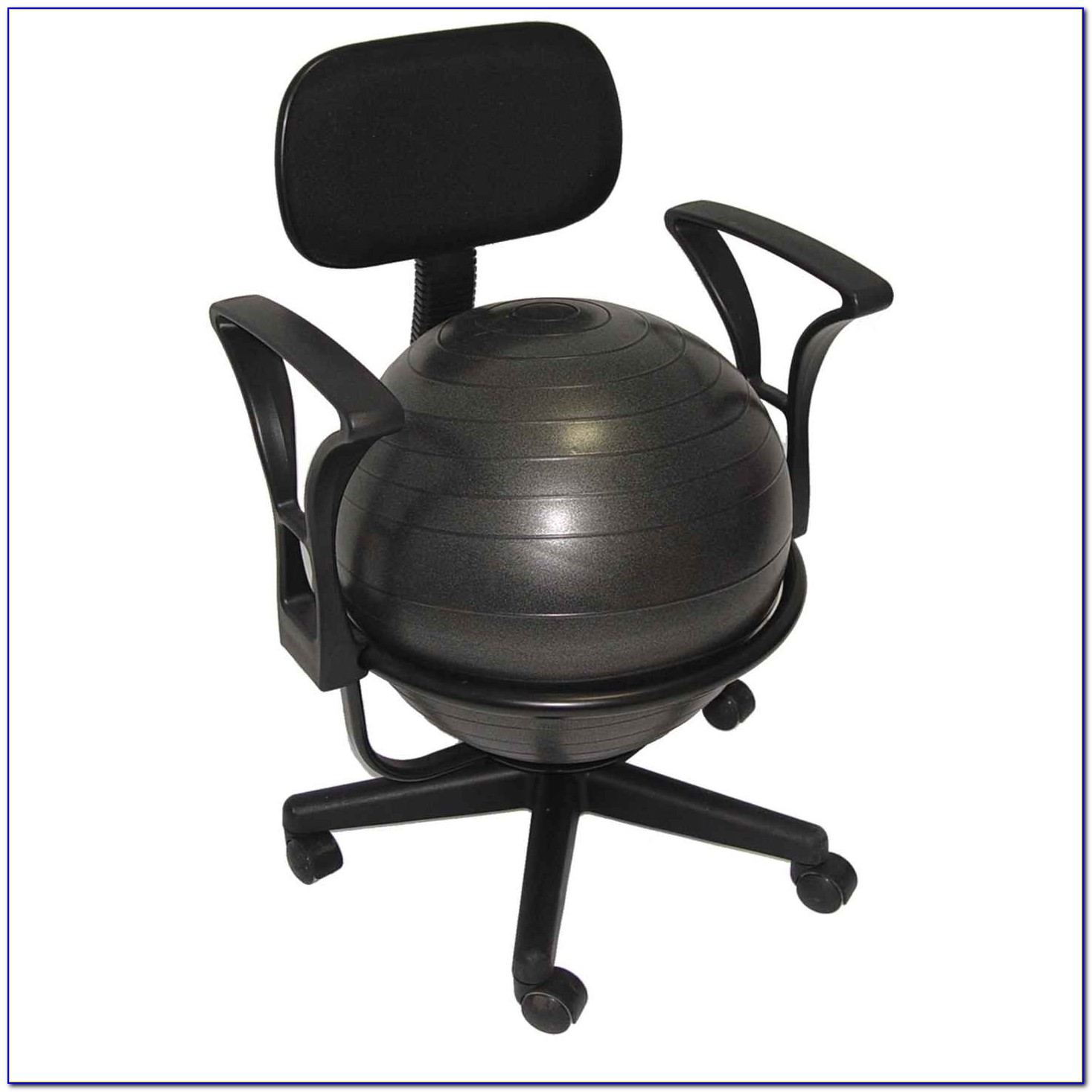 Ball Chair Benefits Ball Chair For Desk Desk Home Design Ideas