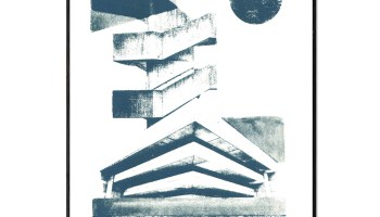 Scott Library | Brutalist Architecture Inspired Screenprint