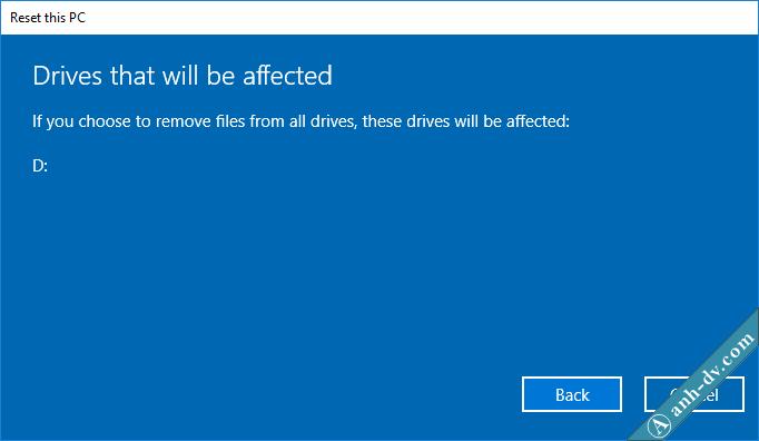 Reset Windows 10 Remove Everything 2