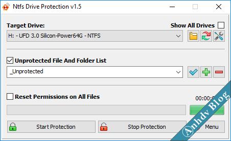 Bảo vệ USB khỏi Virus, chống ghi xóa dữ liệu 2