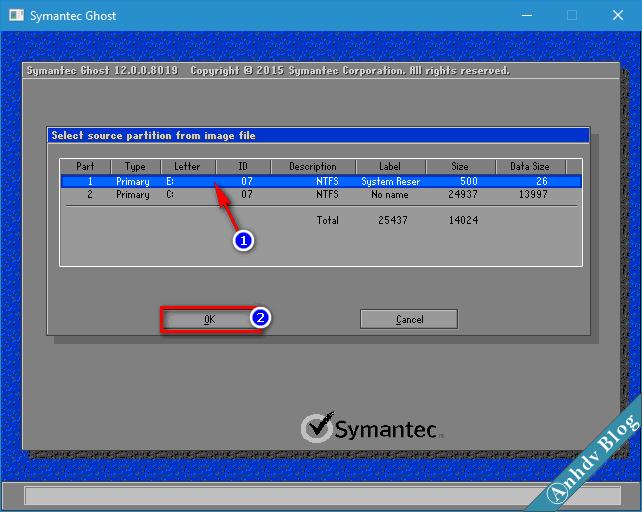 Ghost file GHO Win UEFI và Legacy chuẩn - 3