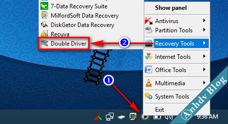 Backup Driver với Double Driver