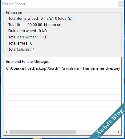 Xóa dữ liệu vĩnh viến với EraserDrop 4