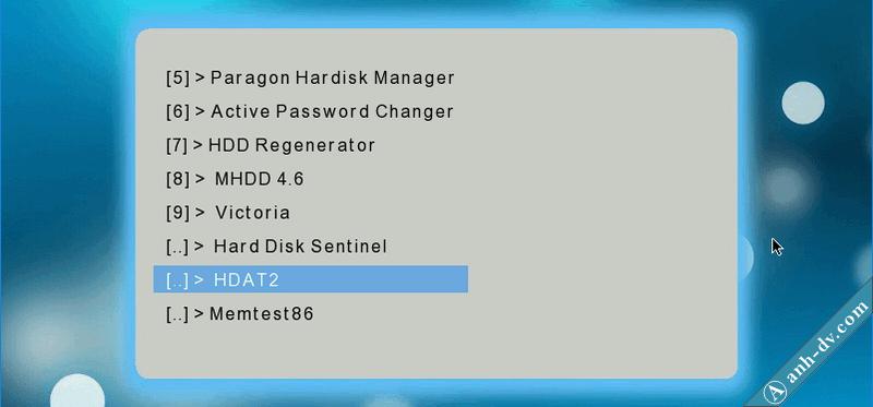Sửa lỗi ổ cứng bị bad sector nặng với phần mềm HDAT2 1