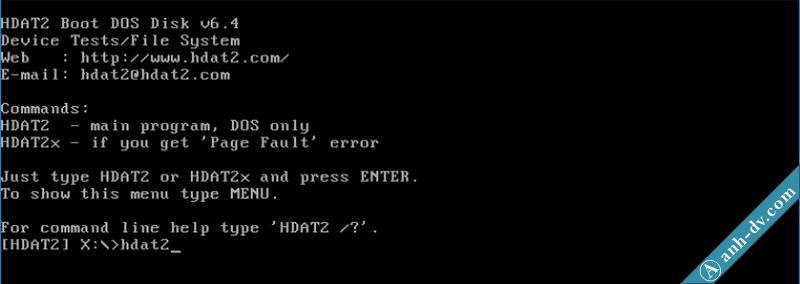 Sửa lỗi ổ cứng bị bad sector nặng với phần mềm HDAT2 3