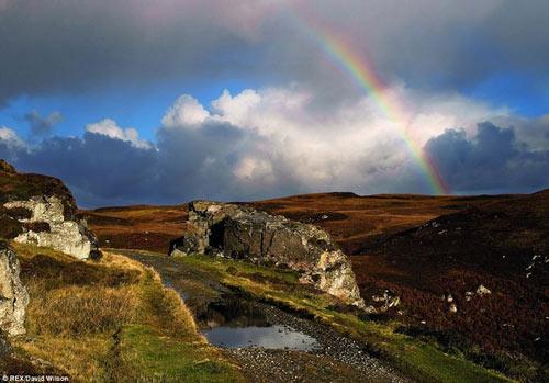 Ngộp thở vẻ đẹp thần thoại của Outer Hebrides - 9
