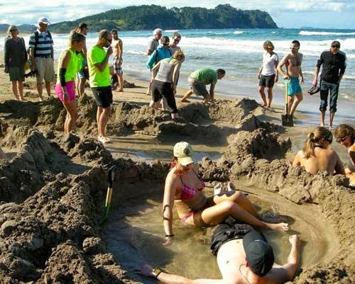 Tới New Zealand tắm cát - 3