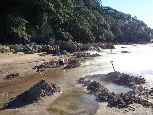 Tới New Zealand tắm cát - 7