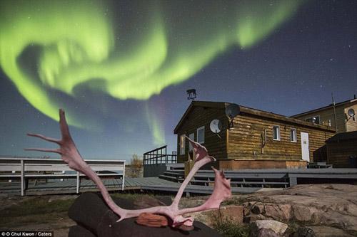 Ngắm cực quang huyền ảo ở Canada - 5
