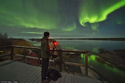 Ngắm cực quang huyền ảo ở Canada - 8