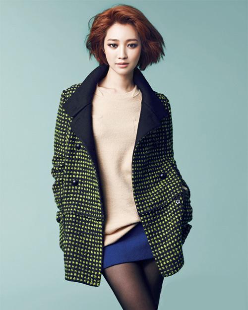 Chọn áo khoác đông đẹp như mỹ nhân Hàn, Thời trang, ao khoac, áo khoác, ao khoac dong, ao khoac dep nhu tin do han, thoi trang mua dong, thoi trang mua dong 2012, koh joon hee, oh yeon seo, sao han, thoi trang sao han