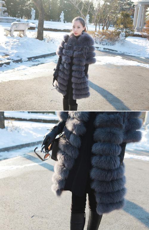 Ngày đông ấm áp với áo khoác lông, Thời trang, ao khoac long, áo khoác lông, thoi trang mua dong, thoi trang mua dong 2012, thoi trang cong so, ao khoac dong, thoi trang